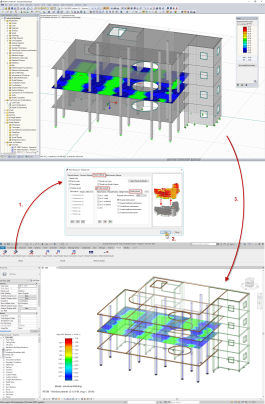Autodesk Revit and Dlubal RFEM