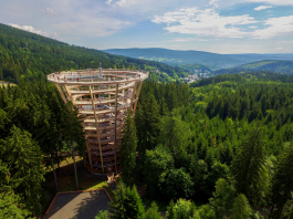 捷克的观景塔 Krkonoše