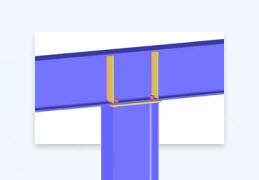 Neues Zusatzmodul RF-/JOINTS Stahl – Biegesteif
